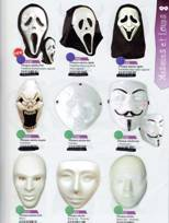 Masques blancs